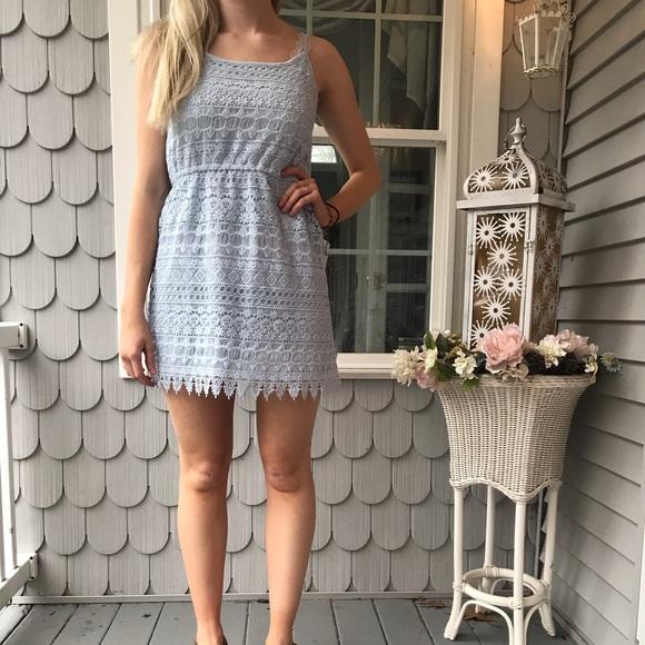 H&M Dresses & Skirts - Lace Lavender Dress